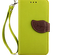 LG Nexus 5/E980 PU Leather / TPU Full Body Cases / Cases with Stand Special Design / Mixed Color case cover