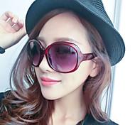 Sonnenbrillen mujeres's Klassisch / Elegant / Leicht / Modern überdimensional Rot Sonnenbrillen Vollrandfassung