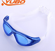 YOBO Unisex Anti-Fog/Adjustable Size/Anti-UV/Anti-slip Blue Swimming Goggles