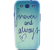 Seawater Pattern PC Hard Case for Samsung S3 I9300