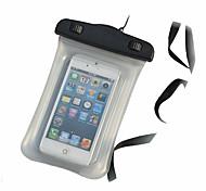 transparant wasserdichte Beutel 15m Unterwassertelefon Tasche mit Umhängeband für iPhone 4 / 4S / 5 / 5s / 5c und andere
