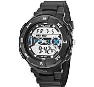 montres-bracelets montre sport de plein air montre multifonction double affichage des ak1386 des hommes (couleurs assorties)