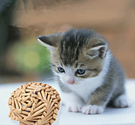 Cat Toy Pet Toys Ball Woven Khaki Wood