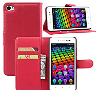 Litchi Around Open Standoff Phone Holster Suitable For lenovo Sisley S90(Assorted Color)