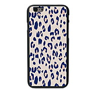 Pink Leopard Print Design Hard Case for iPhone 6 Plus