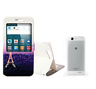 téléphone portable protection cas avec la coquille de bande dessinée de dessin pour Huawei g7