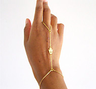 Palm Bracelet With Ring