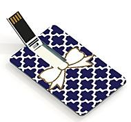 64gb bowknot card design flash drive USB