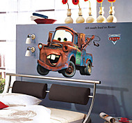 Cartoon Cars Mater PVC Wall Sticker Wall Decals