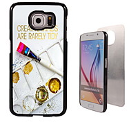 palet ontwerp aluminium koffer voor Samsung Galaxy s6