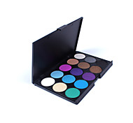 Eyeshadow - com 15 - Pó - Seco - Normal