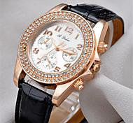 GoGoey Women's Three Dashboard All Match Imitation Diamond High-grade Watch