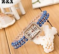 Women's Fashion  Winding Quartz Plastic Bracelet Watch(Assorted Colors)