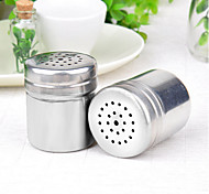 Stainless Steel Salt & Pepper Shaker