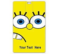 Personalized USB Flash Drive Cartoon Yellow Design 64GB Card USB Flash Drive