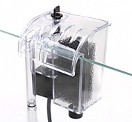 Aquarium Waterfall Filter Oxygen Pump External Mute AC 220-240V