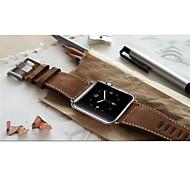 correa original de la colección chicago para el reloj de la correa de piel de becerro de manzana muñeca de cuero genuino correa de banda