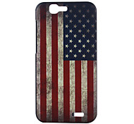 Back Cover Pattern National Flag PC Hard Case Cover For Huawei Huawei P8 / Huawei G7