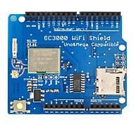 módulo escudo wi-fi CC3000 con ranura para tarjeta SD para arduino Mega2560 / r3
