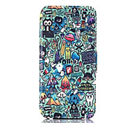 Schutt Muster PU-Leder-Tasche für iPhone 6
