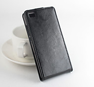 For Huawei Case Flip / Magnetic Case Full Body Case Solid Color Hard PU Leather Huawei