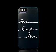 phrase couvrent modèle pour iphone 4 / iPhone 4 s