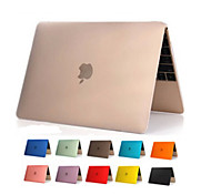 High Quality Transparent Clear PVC Full Body Hard Case Cover for Apple New Macbook 12 inch (Assorted Colors)
