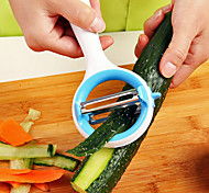 Multifunction Rotary Peeler Fruit Peel Fruit Knife(Random Color)