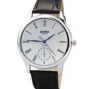 Women's Quartz Wrist Watch Round Dial PU Leather Strap (Assorted Colors) Cool Watches Unique Watches