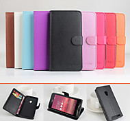 Protective PU Leather Magnetic Vertical Flip Case for Asus Zenfone 4 A450CG(Assorted Colors)