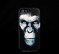 chimpansee patroon dekking voor iphone 4 / iphone 4 s case