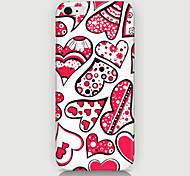Farbe der Liebe Musterfall der rückseitigen Abdeckung für phone6 Fall