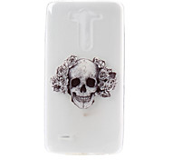 Skull Pattern TPU Material  Phone Case for LG G3