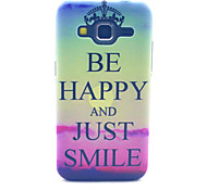 Smile Crown Pattern PC Hard Case forSamsung Galaxy Core Prime G360 G360H G3606 G3608 Back Cover