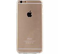 durante toda a caixa do telefone de TPU invisível fina para 6s iphone Plus / 6 mais (cores sortidas)