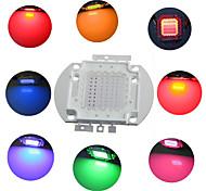 diy 50w rgb chip de lâmpada de poupança de energia de alta potência módulo de LED integrado