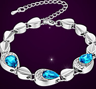 Fashionable woman like water Water droplets bracelet