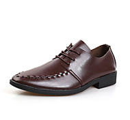 Men's Shoes Wedding/Office & Career/Party & Evening Oxfords Black/Brown/White