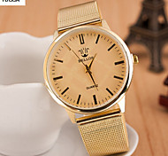 Lady'S Set Auger Alloy Watches Leopard Grain Steel Band Watches