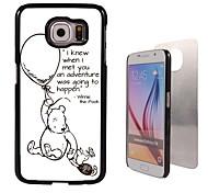 avontuur gebeuren ontwerp aluminium koffer voor Samsung Galaxy s6