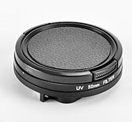 52 millimetri uv impermeabile accessori casi kit per eroe GoPro 3+
