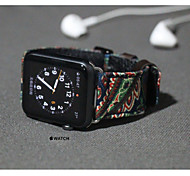 Fashion iwatch apple watch Watchband Watch National Style Woman and Man Unisex  Wristwatch 38mm