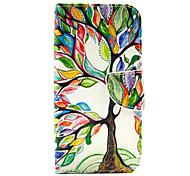 farbige Bäume Muster der Inneren gemalt Karten für Samsung-Galaxie s6 Rand