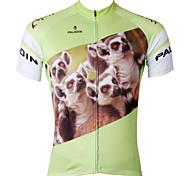 Top - Ciclismo - Per uomo - Maniche corte -Traspirante/Resistenteai raggi UV/Asciugatura