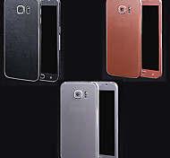 Full Body Side+Top+Back+Button Litchi Pattern Body Sticker for Samsung Galaxy S6(Assorted Colors)