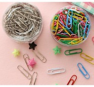 Barrel Color Paper Clips (Random Color)