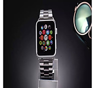 Smart Wristwatch With Linkeditor Button Stainless Steel Watch Strap for Applewatch 42mm