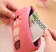 Beautiful Dolls Stylish Multi Color Leather Coin Purse (Random Delivery)