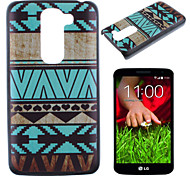 Blue Trim Pattern PC Phone Case for LG G2 mini