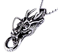 Individuality Titanium-Steel Dragon-Head Pendant(Bronze)(1Pc)